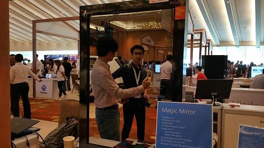 Microsoft's Magic Mirror