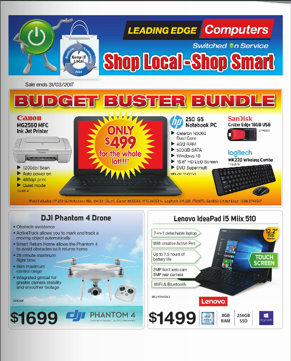 Leading Edge Computer March Catalogue